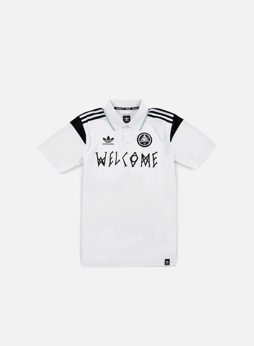 Adidas Skateboarding - Welcome Jersey, White
