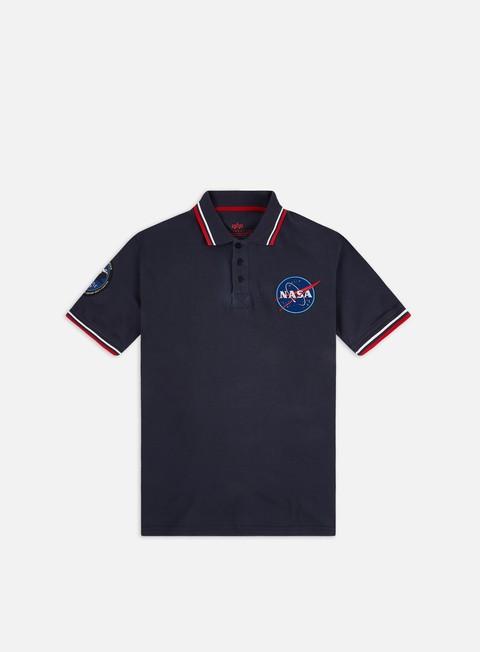 Outlet e Saldi Polo Alpha Industries Nasa Polo Shirt