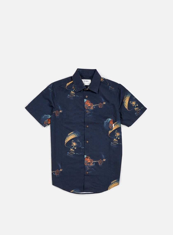 Altamont - Erik Brunetti Opiate SS Woven Shirt, Black