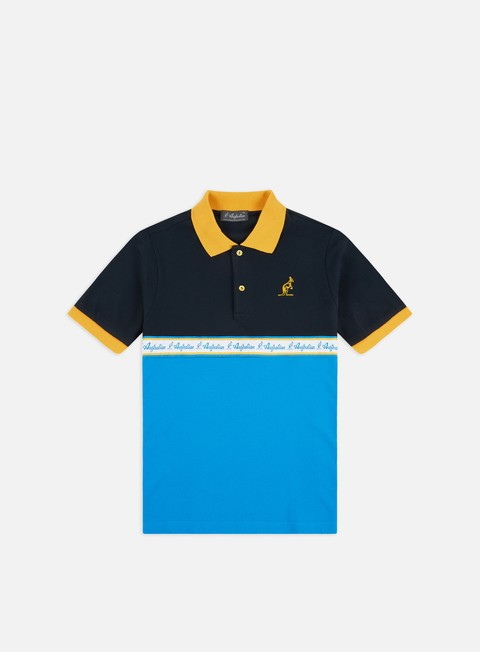 Short Sleeve Shirts Australian Chest Banda Polo Shirt
