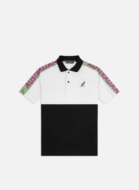 Outlet e Saldi Camicie a Manica Corta Australian Cube Banda Polo Shirt