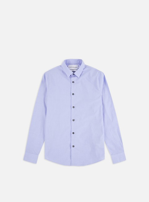 Long Sleeve Shirts Calvin Klein Jeans CK Dobby Stretch LS Shirt
