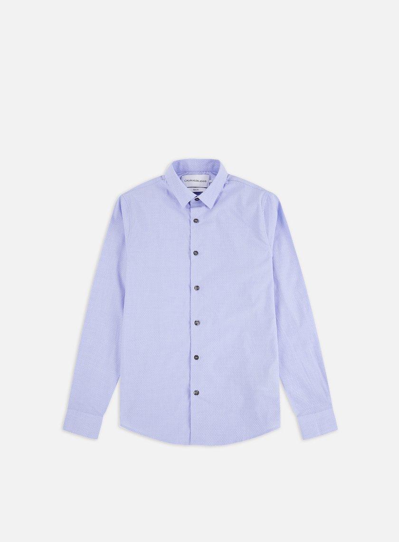 Calvin Klein Jeans CK Dobby Stretch LS Shirt