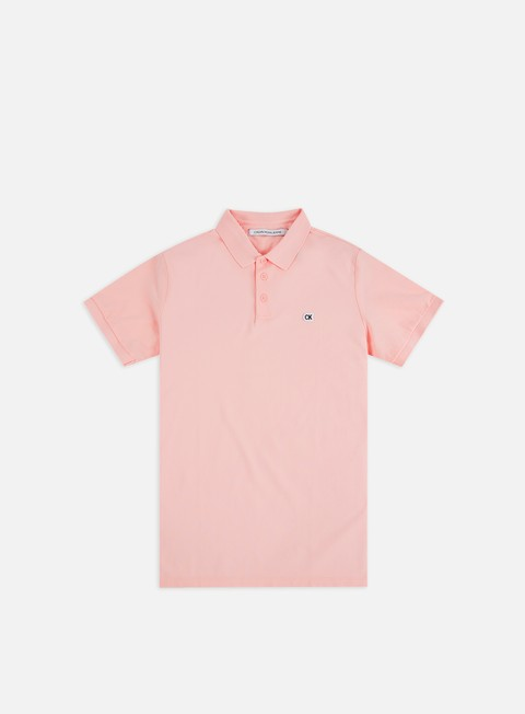 Outlet e Saldi Polo Calvin Klein Jeans CK Logo Pique Polo Shirt