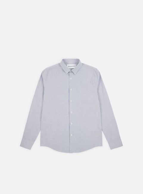 Outlet e Saldi Camicie a Manica Lunga Calvin Klein Jeans CKJ Dobby Slim Stretch LS Shirt