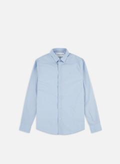 Calvin Klein Jeans - CKJ Logo Slim Strech Shirt, Chambray Blue