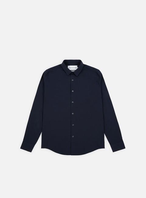 Outlet e Saldi Camicie a Manica Lunga Calvin Klein Jeans CKJ Logo Slim Strech Shirt