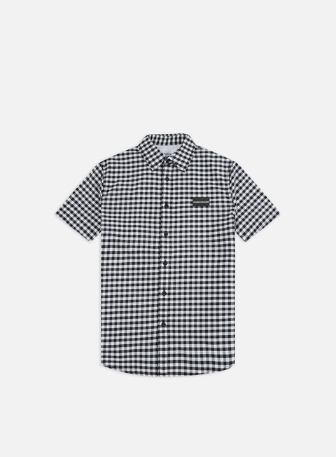 Calvin Klein Jeans Gin Gham Institutional Chest SS Shirt