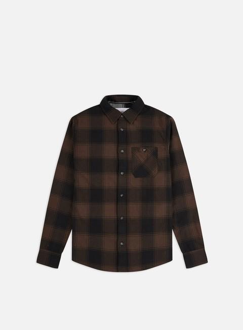 Long Sleeve Shirts Calvin Klein Jeans Grunge Check Shirt