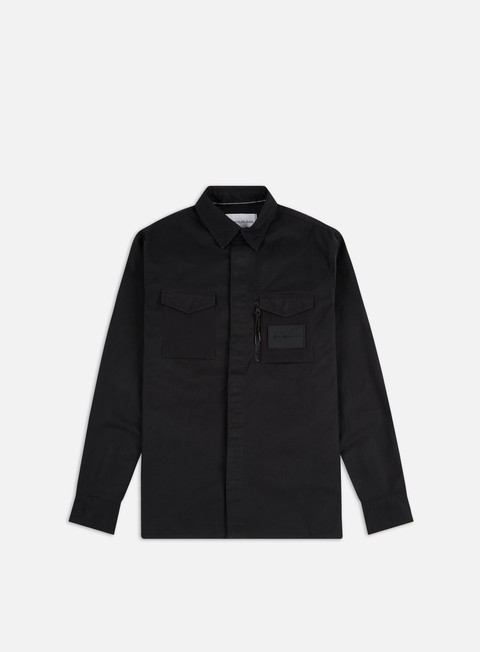 Sale Outlet Long Sleeve Shirts Calvin Klein Jeans Minimal Utility Regular Shirt