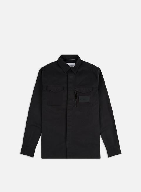 Camicie a Manica Lunga Calvin Klein Jeans Minimal Utility Regular Shirt