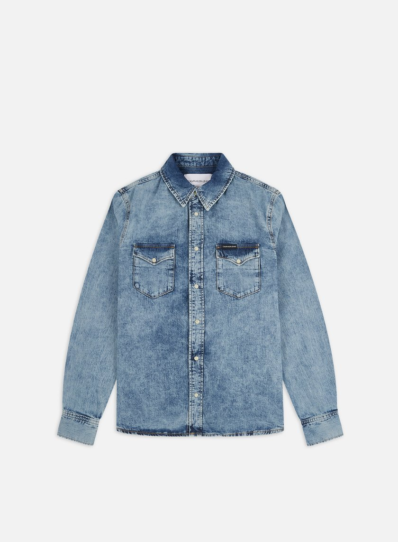 Calvin Klein Jeans Modern Western LS Shirt
