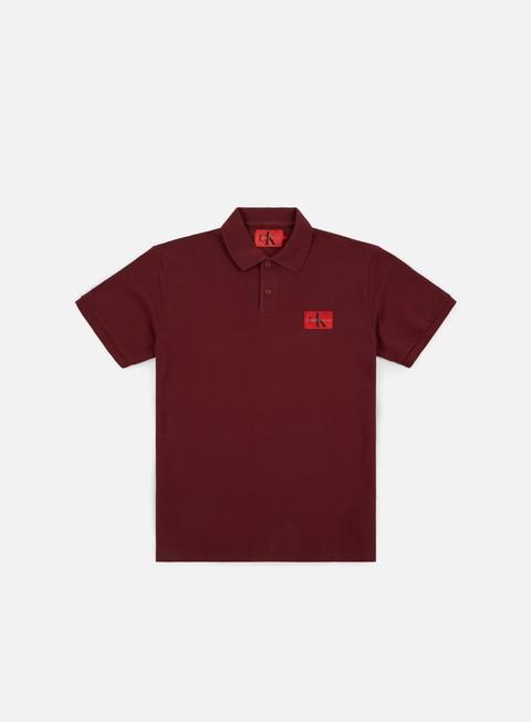 Outlet e Saldi Polo Calvin Klein Jeans Monogram Logo Polo Shirt
