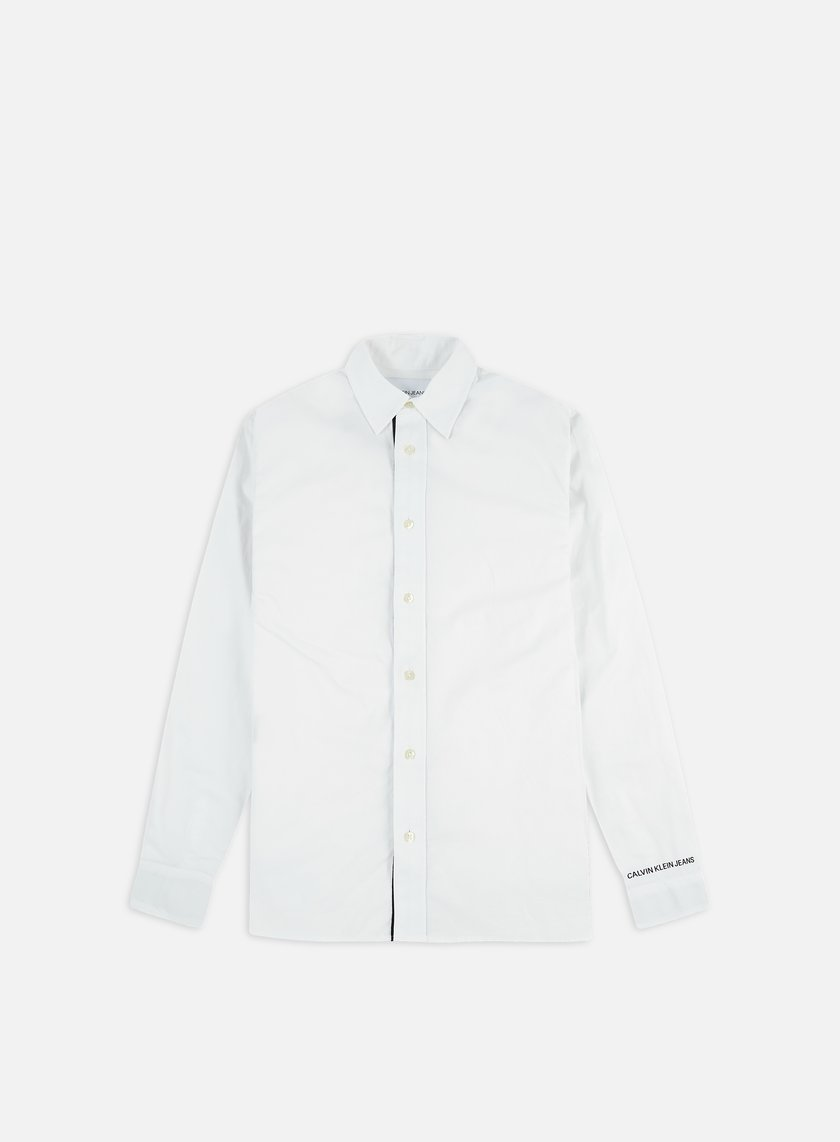 Calvin Klein Jeans Monogram Tape Regular LS Shirt