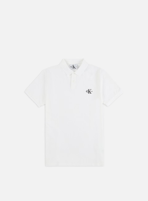 Calvin Klein Jeans New Monogram Logo Polo Shirt