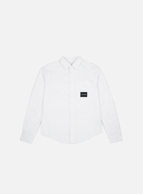 Outlet e Saldi Camicie a Manica Lunga Calvin Klein Jeans One Pocket LS Shirt