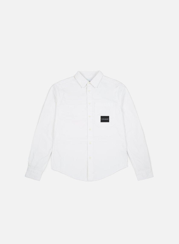 Calvin Klein Jeans One Pocket LS Shirt