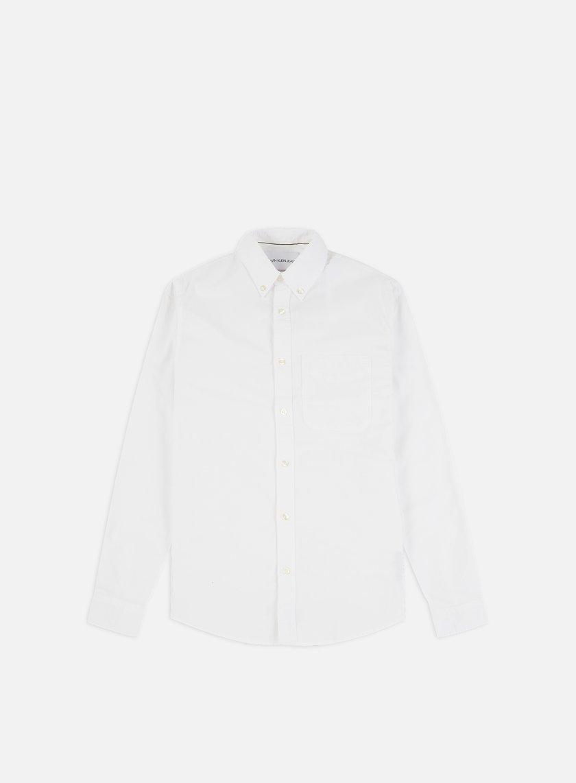 Calvin Klein Jeans Oxford Solid Slim LS Shirt