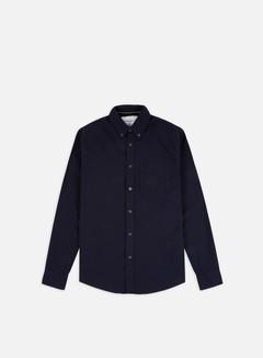 Calvin Klein Jeans - Oxford Solid Slim LS Shirt, Night Sky