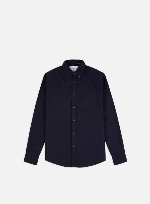 Outlet e Saldi Camicie a Manica Lunga Calvin Klein Jeans Oxford Solid Slim LS Shirt