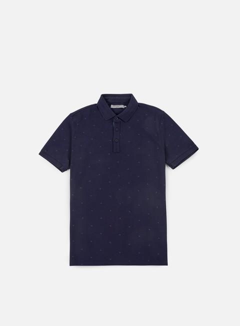 camicie calvin klein jeans pertol 3 aop polo shirt night sky