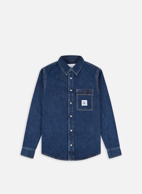Camicie a Manica Lunga Calvin Klein Jeans Skate LS Shirt