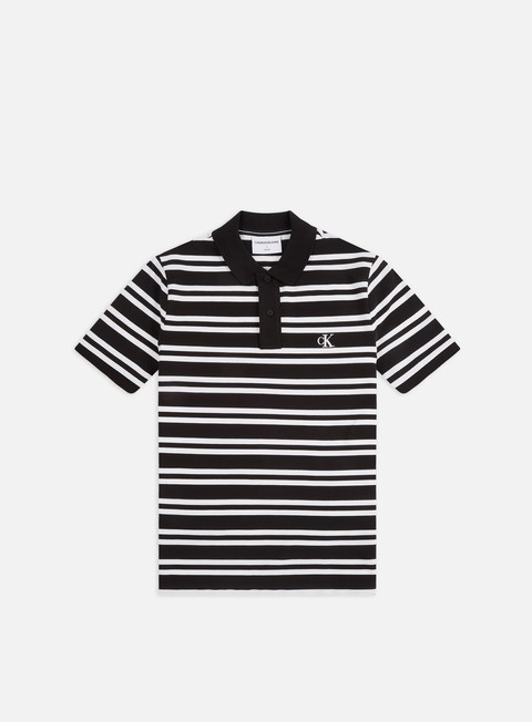 Polo Calvin Klein Jeans Stripe Polo Shirt