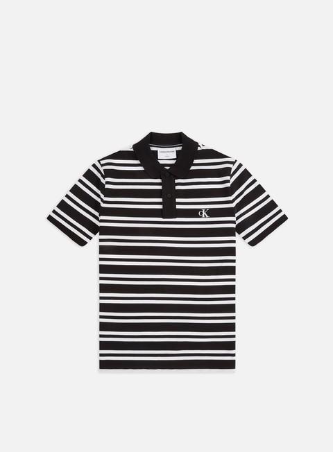 Calvin Klein Jeans Stripe Polo Shirt