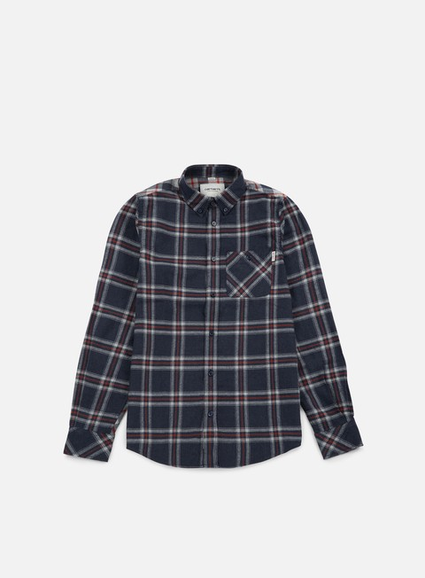camicie carhartt aaron ls shirt jupiter heather aaron check