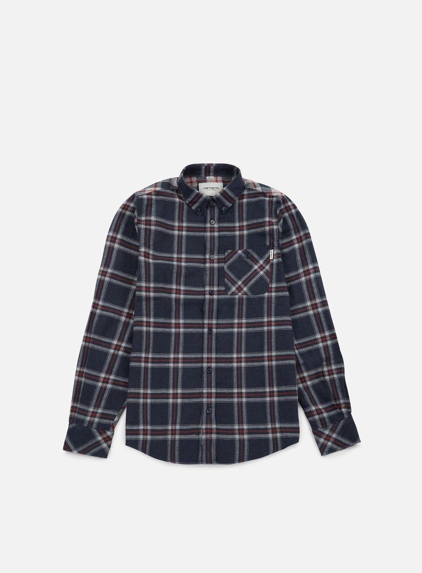 Carhartt - Aaron LS Shirt, Jupiter Heather Aaron Check