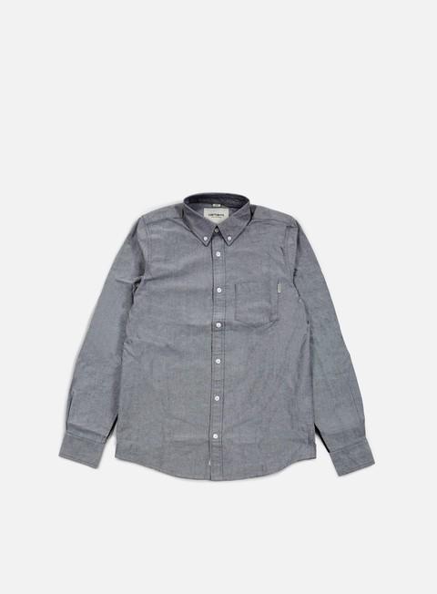 camicie carhartt alpha ls shirt black black black