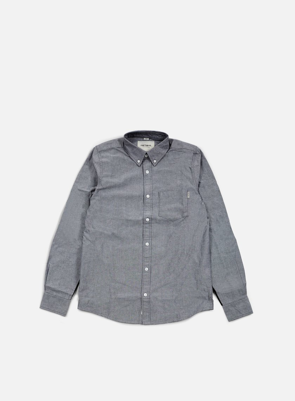 Carhartt - Alpha LS Shirt, Black/Black/Black