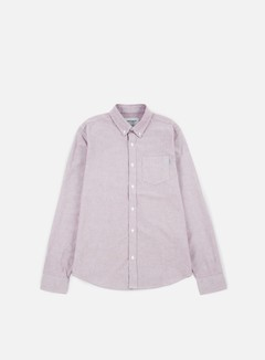 Carhartt - Button Down Pocket LS Shirt, Amarone 1