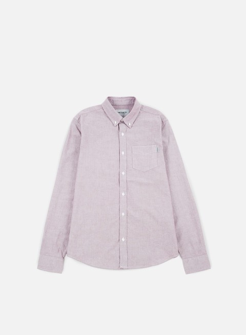 camicie carhartt button down pocket ls shirt amarone