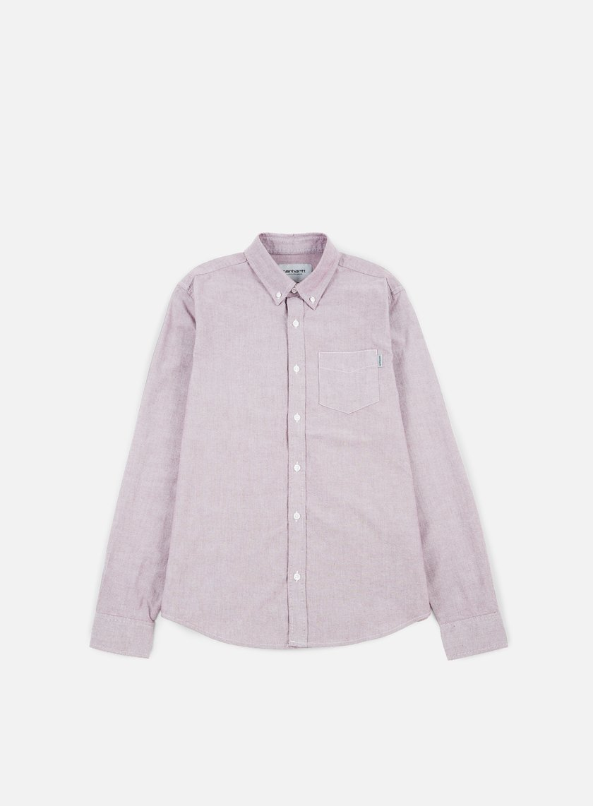 Carhartt - Button Down Pocket LS Shirt, Amarone