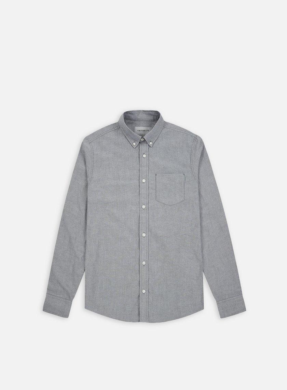 Carhartt - Button Down Pocket LS Shirt, Black