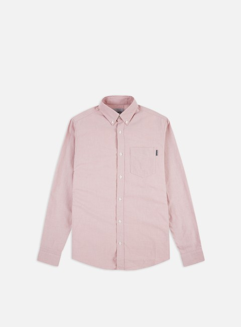 Camicie a Manica Lunga Carhartt Button Down Pocket LS Shirt