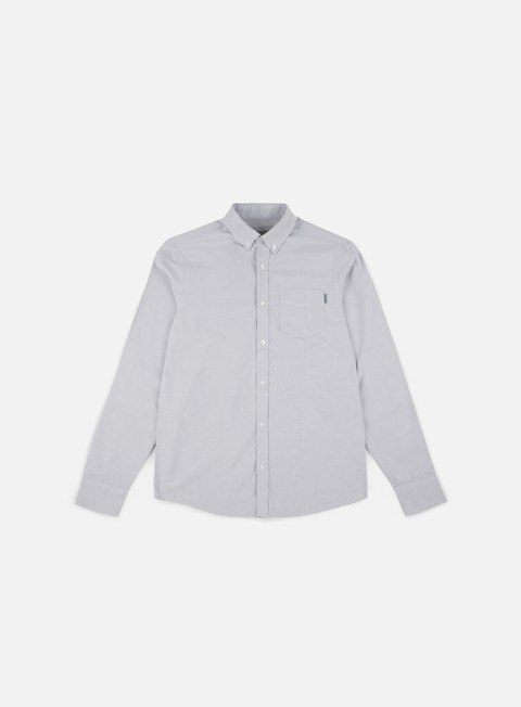 camicie carhartt button down pocket ls shirt dust