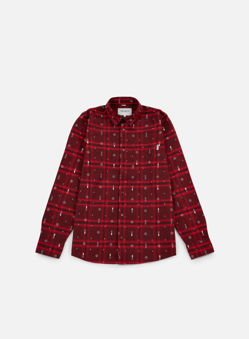 Carhartt - Carlos Origin LS Shirt, Chianti Heather Carlos Check