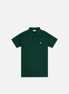 Carhartt - Chase Pique Polo Shirt, Bottle Green