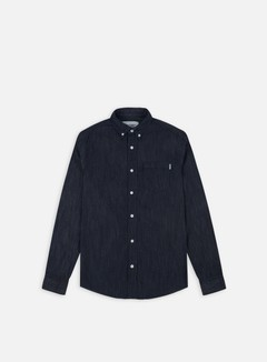 Carhartt - Civil LS Shirt, Blue Rinsed