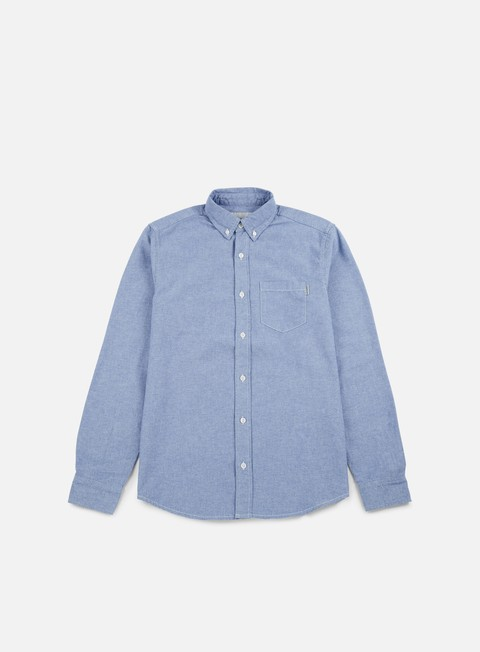 camicie carhartt civil ls shirt glacier rinsed