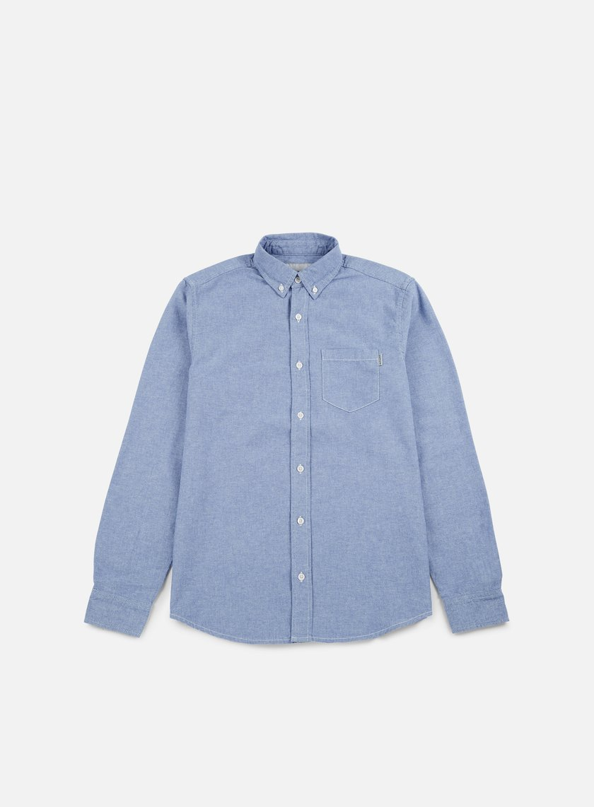 Carhartt - Civil LS Shirt, Glacier Rinsed