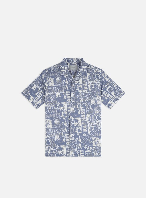 Sale Outlet Short Sleeve Shirts Carhartt Collage SS Shirt