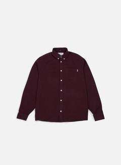 Carhartt - Dalton LS Shirt, Amarone/Black