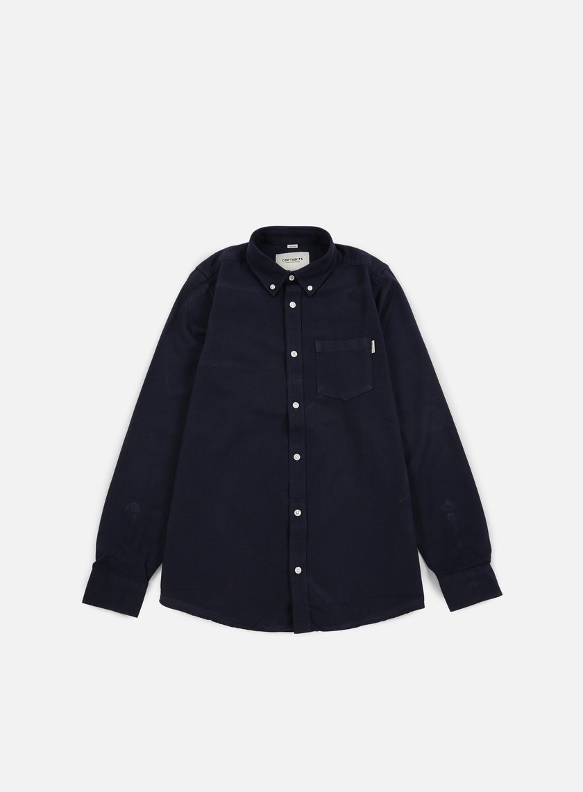 Carhartt - Dalton LS Shirt, Blue/Black