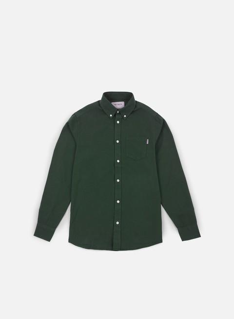 camicie carhartt dalton ls shirt cypress rover green