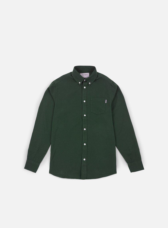 Carhartt - Dalton LS Shirt, Cypress/Rover Green