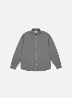 Carhartt - Dalton LS Shirt, Grey Heather/Black 1