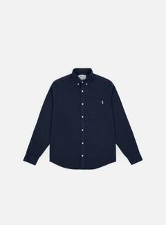 Carhartt - Dalton LS Shirt, Metro Blue/Heavy Rinse